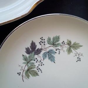 The Glimpsing Garden Collection - Vintage Mix & Match Floral China Plates - Set of 6