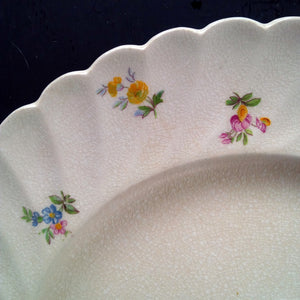 Vintage Mix & Match Floral Plates - Fields of Gold Collection - 1920's-1970s Dishware