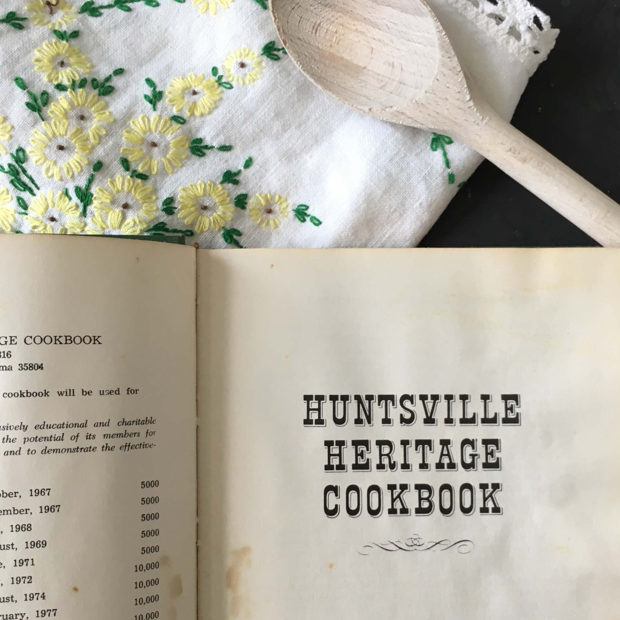 Hunstville Heritage Cookbook - 1981 Edition, 10th Printing - Junior League of Hunstville Alabama