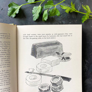 Culinary Crafting - Doris McFerran Townsend - 1976 Food Garnishing Cookbook & Styling Guide