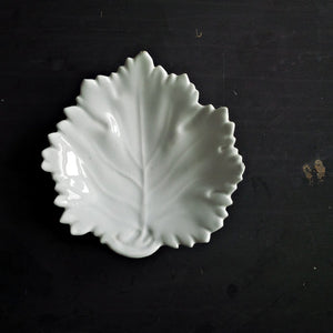 Antique Knowles, Taylor and Knowles Ironstone Dish - Cabbage Leaf Shape circa 1870-1881