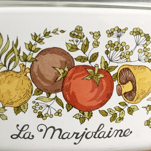 Vintage Corning Ware Spice of Life Covered Dish -  2 Quart Capacity - La Marjolaine