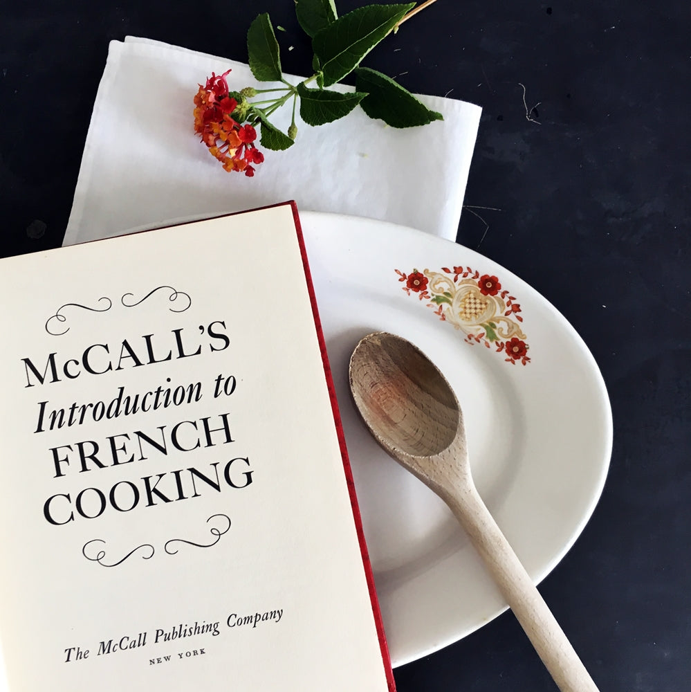Vintage 1970s French Cookbook - McCall's Introduction to French Cooking - 1971 Edition