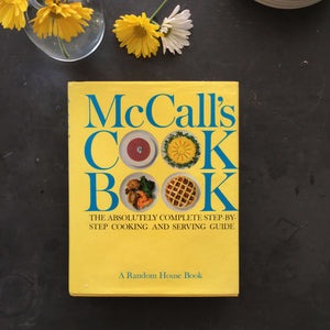 McCall's Cook Book - 1963 - Rare Yellow Edition - 8th Printing with Dust Jacket