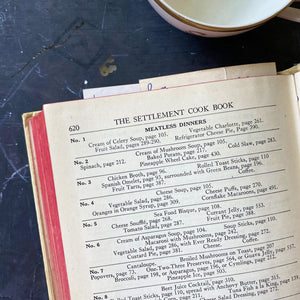 The Settlement Cook Book - 1945 Edition - Mrs. Simon Kander - Jewish Immigrant Heritage Cookbook