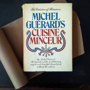 Michel Guerard's Cuisine Minceur - Low Calorie French Cooking - 1976 Edition