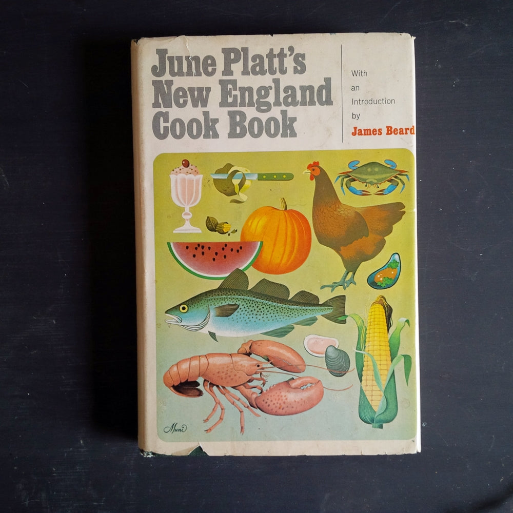 June Platt's New England Cook Book - 1970's Regional Northeastern US Recipes