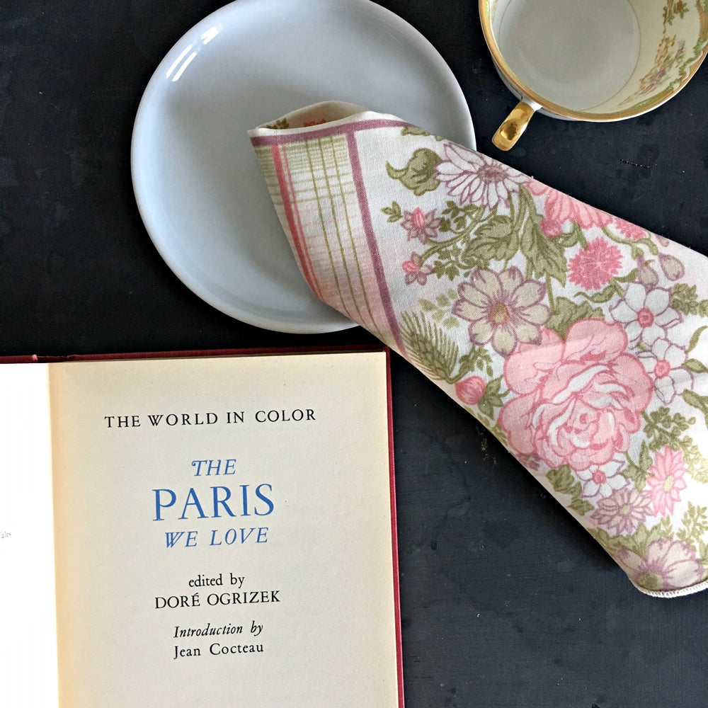 Vintage 1950's Paris Art Book - The Paris We Love- Dore Ogrizek The World In Color 1950