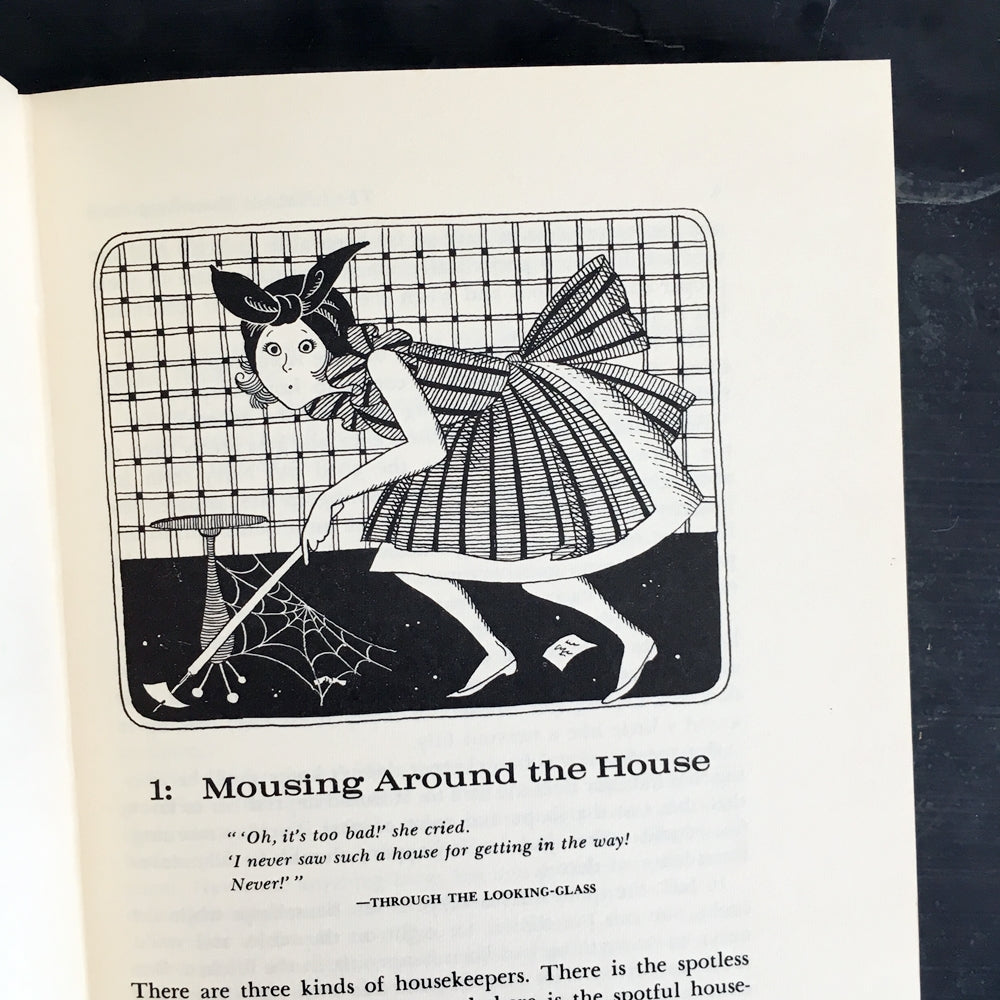 The I Hate to Housekeep Book - by Peg Bracken - 1962 Edition