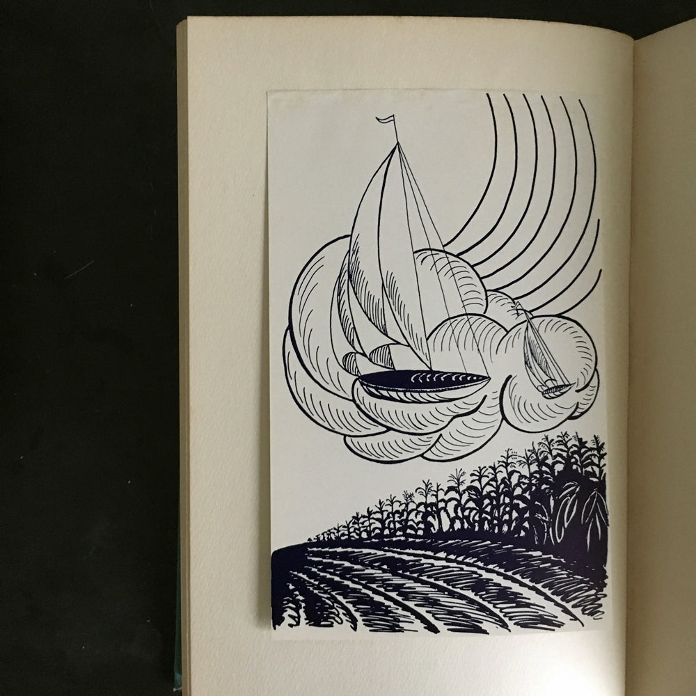 Rare 1930's Poetry Book - Eminent American Poets - Edited by James Rutherford Illustrated by Eleanor Falk 1933