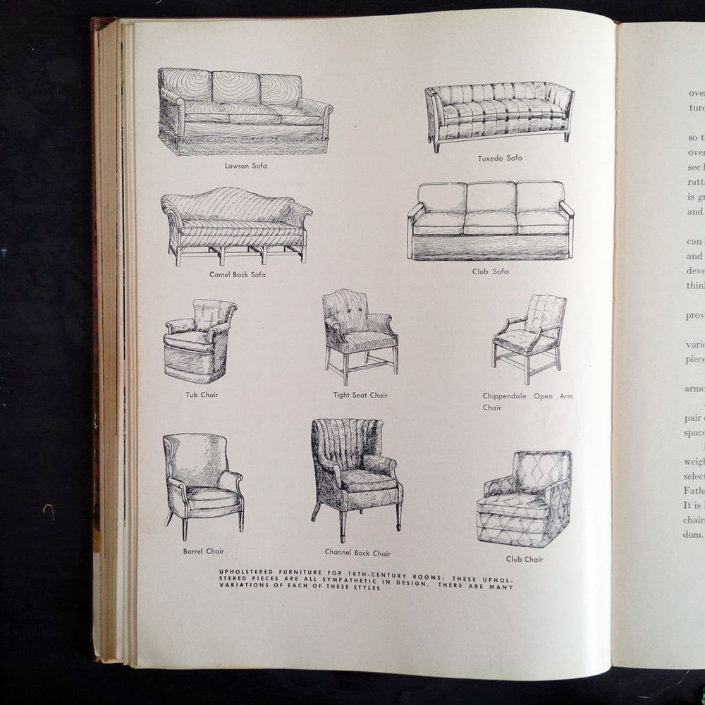 1940's Interior Design Book - Popular Home Decoration by Mary Davis Gillies