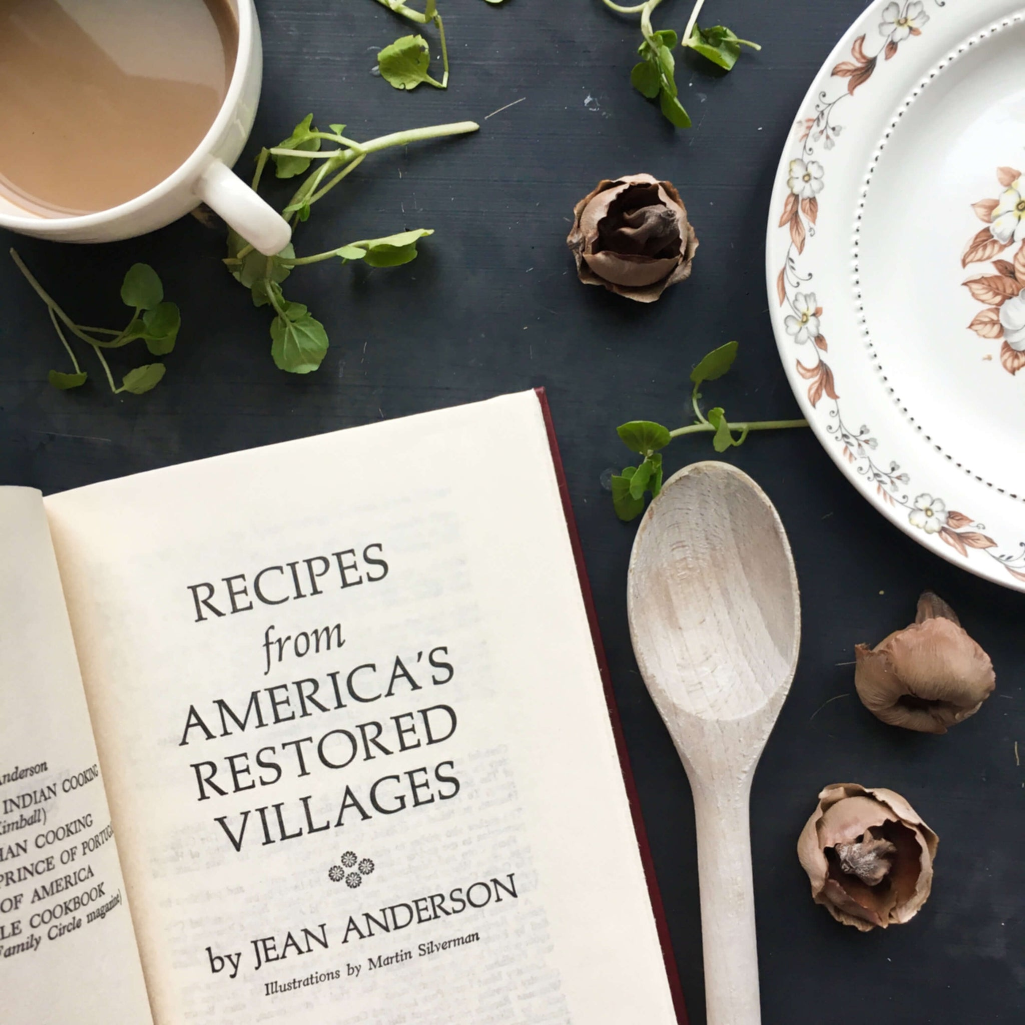 Recipes From America's Restored Villages by Jean Anderson - 1975 Book Club Edition