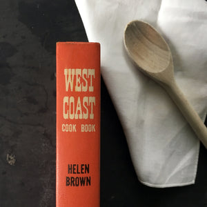 West Coast Cookbook by Helen Evans Brown - Cookbook Collectors Library - Regional Cuisine