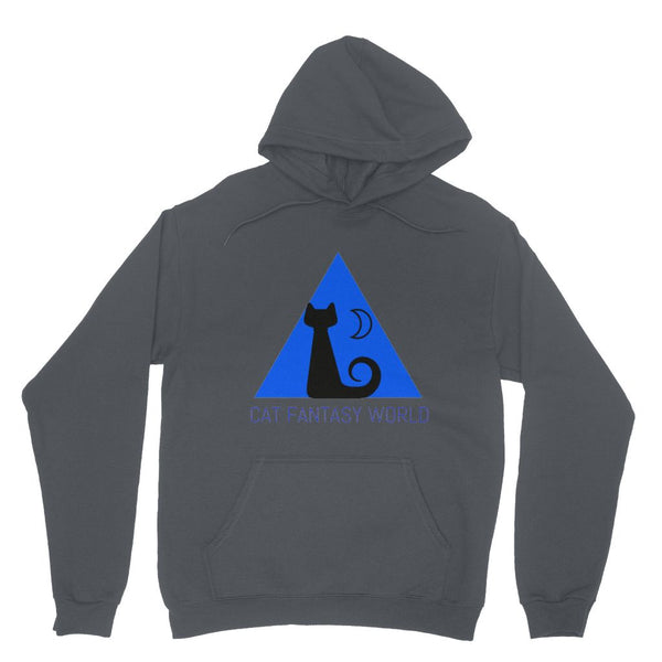 Cat Fantasy World Heavy Blend Hooded Sweatshirt - Cat Fantasy World