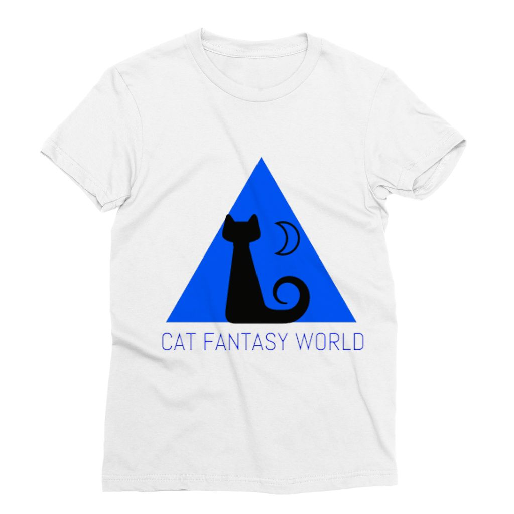 Cat Fantasy World Sublimation T-Shirt - Cat Fantasy World