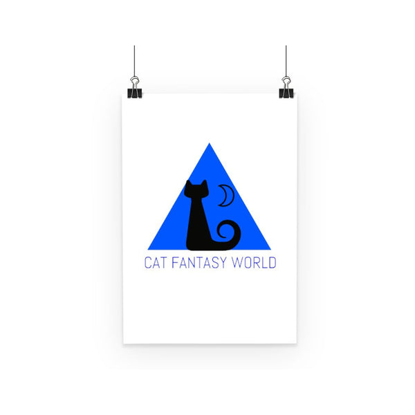 Cat Fantasy World Poster - Cat Fantasy World