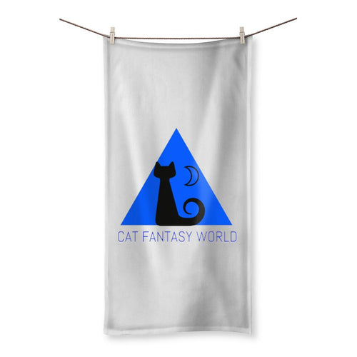 Cat Fantasy World Beach Towel - Cat Fantasy World