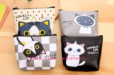 Cat Pocket Coin Pouch