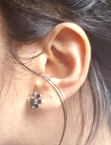Cute Paw Print Earrings - Cat Fantasy World
