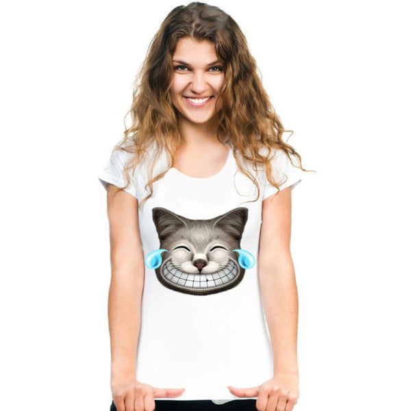 Cool Cat-Featured T-Shirts - Cat Fantasy World