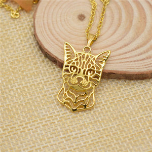 Bengal Cat Necklace - Cat Fantasy World
