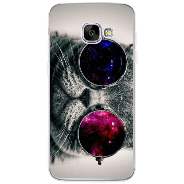 Silicon Cat iPhone Cases For Samsung Galaxy - Cat Fantasy World