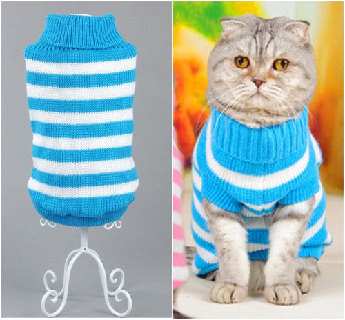 NEW Candy Stripe Cat Sweater - Cat Fantasy World