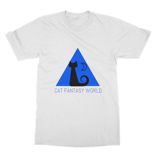 Cat Fantasy World Softstyle Ringspun T-Shirt - Cat Fantasy World