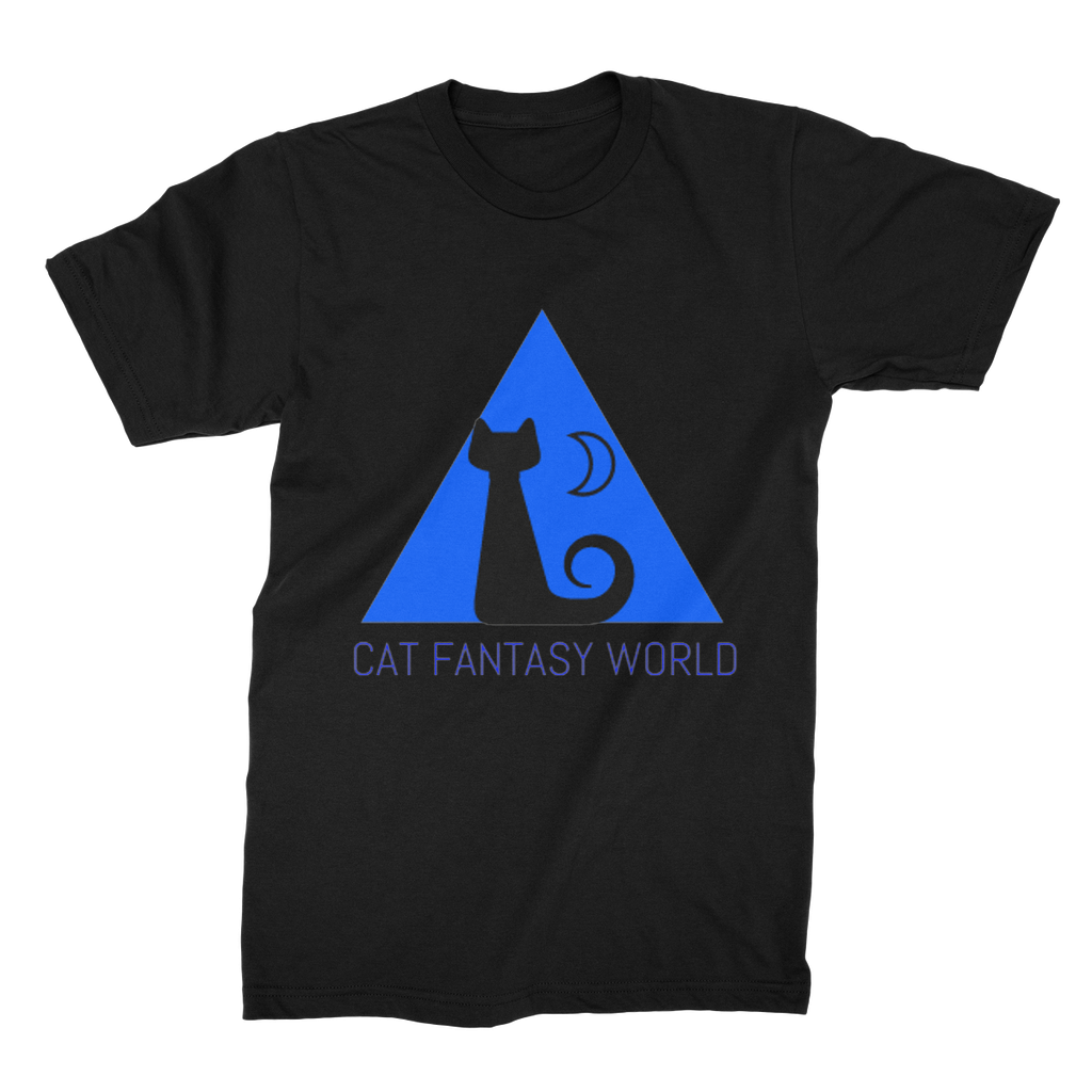 Cat Fantasy World Unisex Fine Jersey T-Shirt - Cat Fantasy World