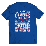 Camping Couple Tees