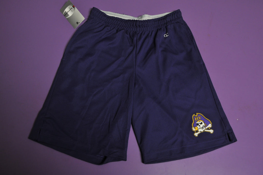 Purple Skull & Crossbones Shorts