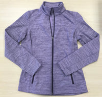 Womens Long Sleeve Fleece Full Zip