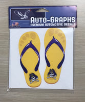 ECU Sandals Decal