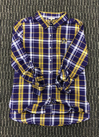 ECU BF Plaid Button Up