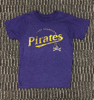 ECU Pirates Stressed Tee
