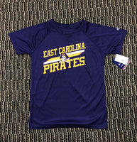 Purple ECU Pirates Youth Tee