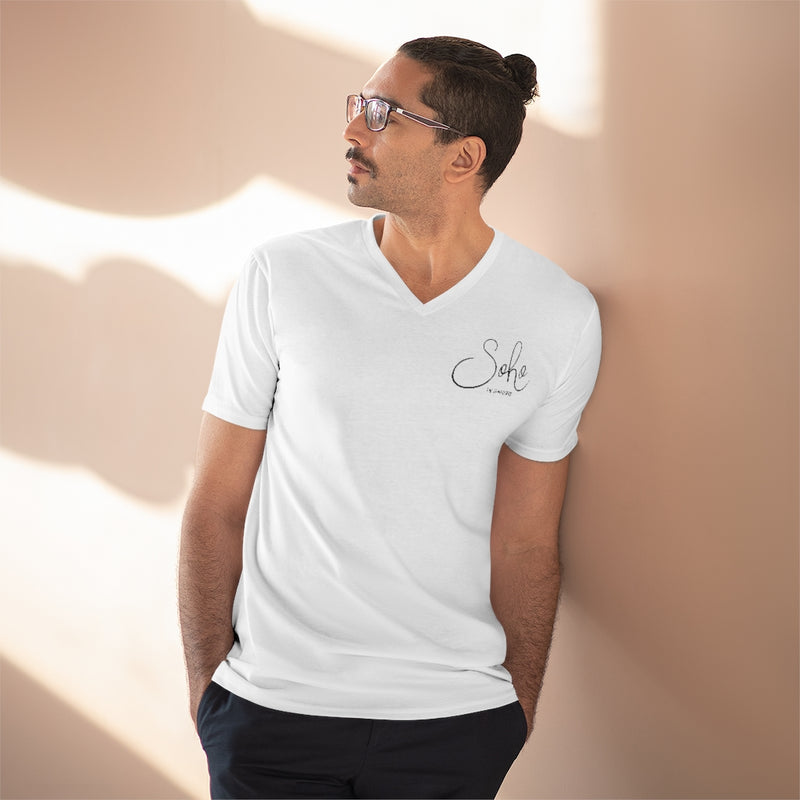 Men's Lightweight V-Neck Tee
