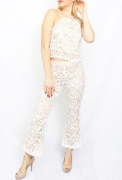 Short lace pants