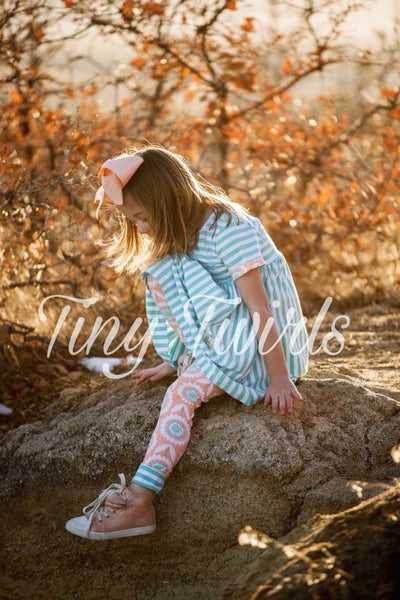 Lillian Tunic Set - Tiny Twirls Kids Boutique