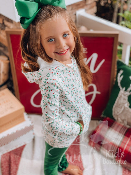 Christmas Holly Sweatshirt - In-Stock