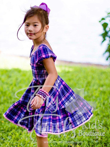 Mad about Plaid Twirl Dress - In-Stock