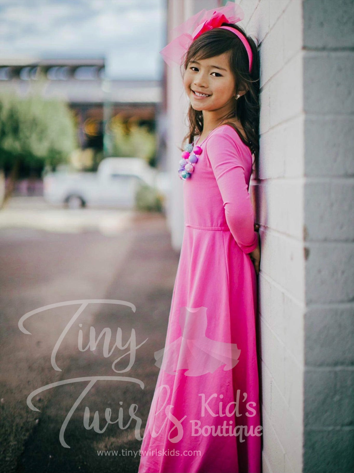 Pink Maxi Dress - In-Stock