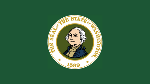 washington flag original