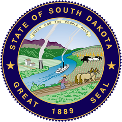 the state seal of south dakota