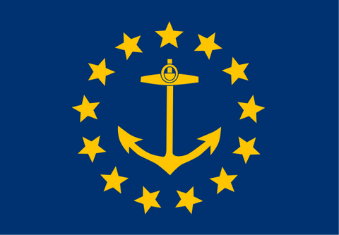 the second flag of rhode island