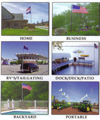 Ways to install your telescoping flagpole
