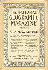 october 1917 national geographic magazine cover