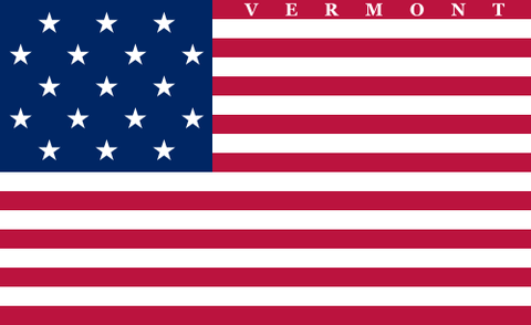 vermonts second state flag