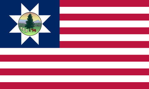 third state flag for vermont