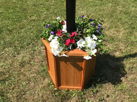 American Black Cherry Flagpole Planter